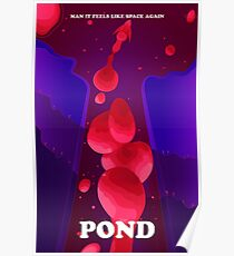 "Pond ""Man it Feels Like Space Again"" Fan Art Poster"