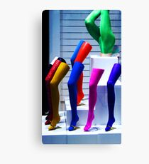 For girls only! Canvas Print