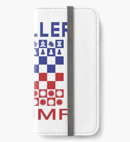 Mueller Chess Trump Checkers iPhone Wallet