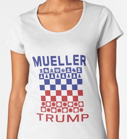 Mueller Chess Trump Checkers Women's Premium T-Shirt