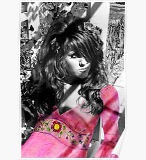 Hippie Paper Doll Poster