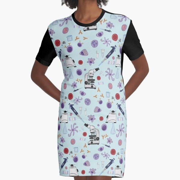 Science! Graphic T-Shirt Dress