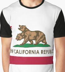 Klassische neue Kalifornien-Republik Grafik T-Shirt