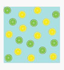 Lemon Lime Photographic Print