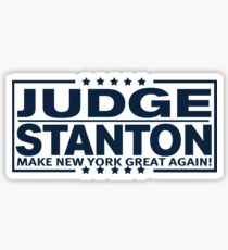 Judge - Stanton, MNYGA! Sticker