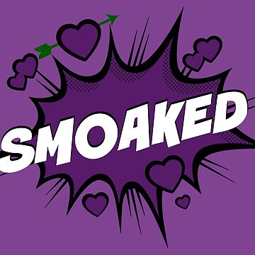 SMOAKED - Purple Love Action Bubble with Green Arrow by FangirlFuel