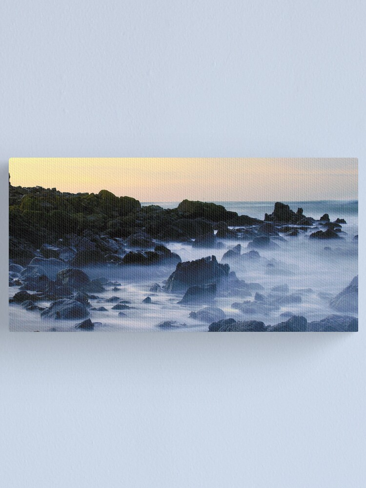 Alternate view of mountains  in the  mist  II Canvas Print