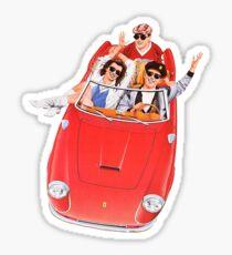 Ferris Bueller's Day Off - The Car Sticker