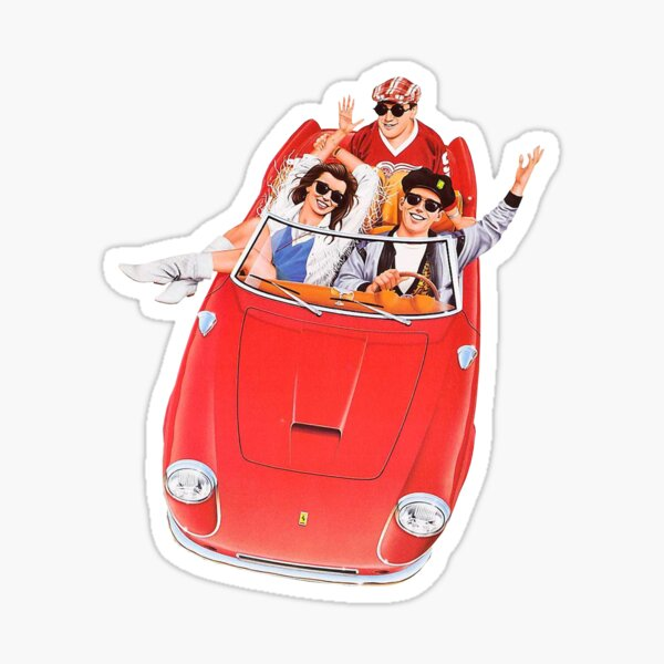 Ferris Bueller's Day Off - The Car Sticker