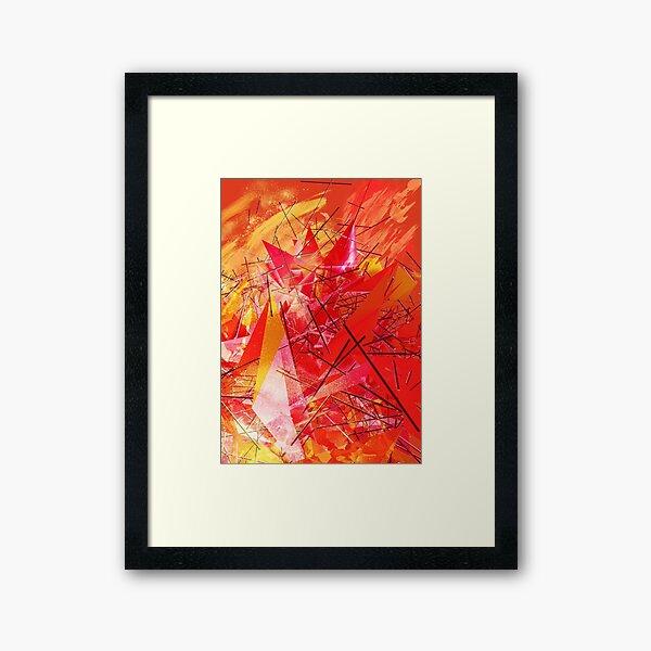 Structured chaos \2 Framed Art Print