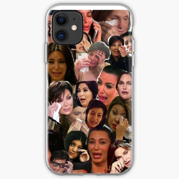 Kardashian's Crying Collage  iPhone Soft Case