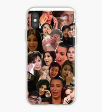 Kardashian's Crying Collage  iPhone Case