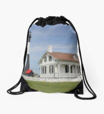 Tybee Island Lighthouse Drawstring Bag