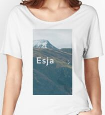 Mt. Esja Women's Relaxed Fit T-Shirt