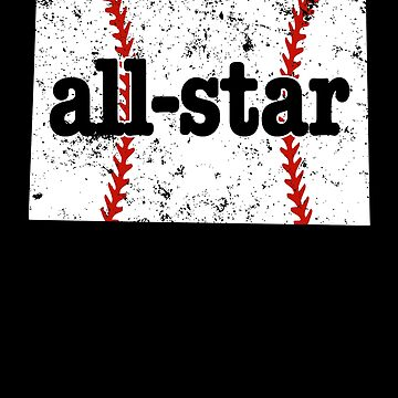 All Star Youth Baseball Shirt Colorado All Star Softball by shoppzee