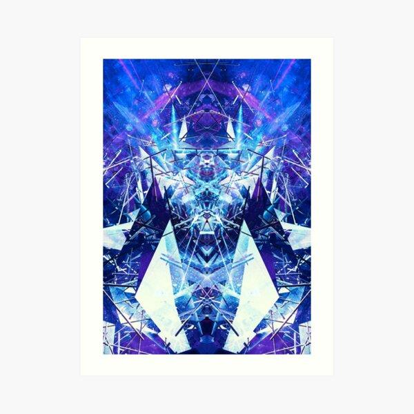 Structured chaos kaleida \1 Art Print
