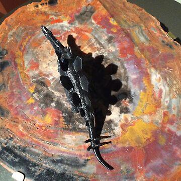 Tie dyenosaur by jackbattle6