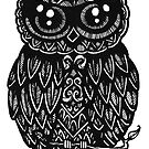 Ink Owl by ogfx