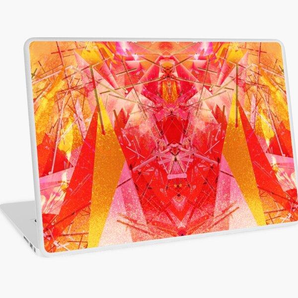 Structured chaos kaleida \2 Laptop Skin