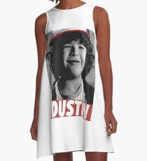 DUSTIN IS MY HERO A-Line Dress