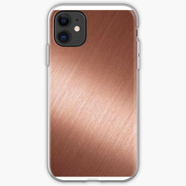 Rose Gold Reflective iPhone Soft Case