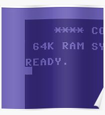 C64 Ready Poster