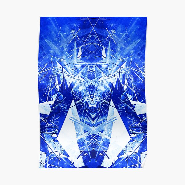Structured chaos kaleida \3 Poster