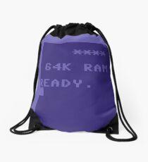 C64 Ready Drawstring Bag