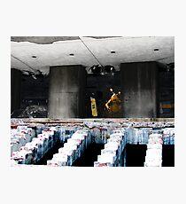 "Demolition ""Man"" Photographic Print"