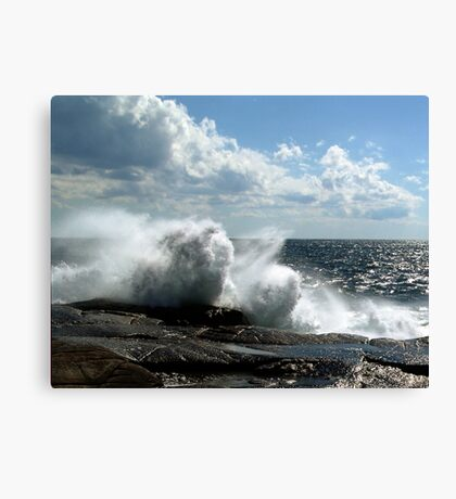 Ocean Burst Canvas Print