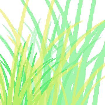 Green Abstract by nadjmahal