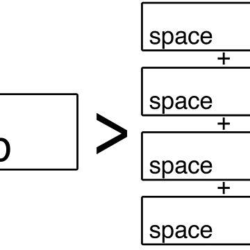 Tabs > Spaces by maddiesh