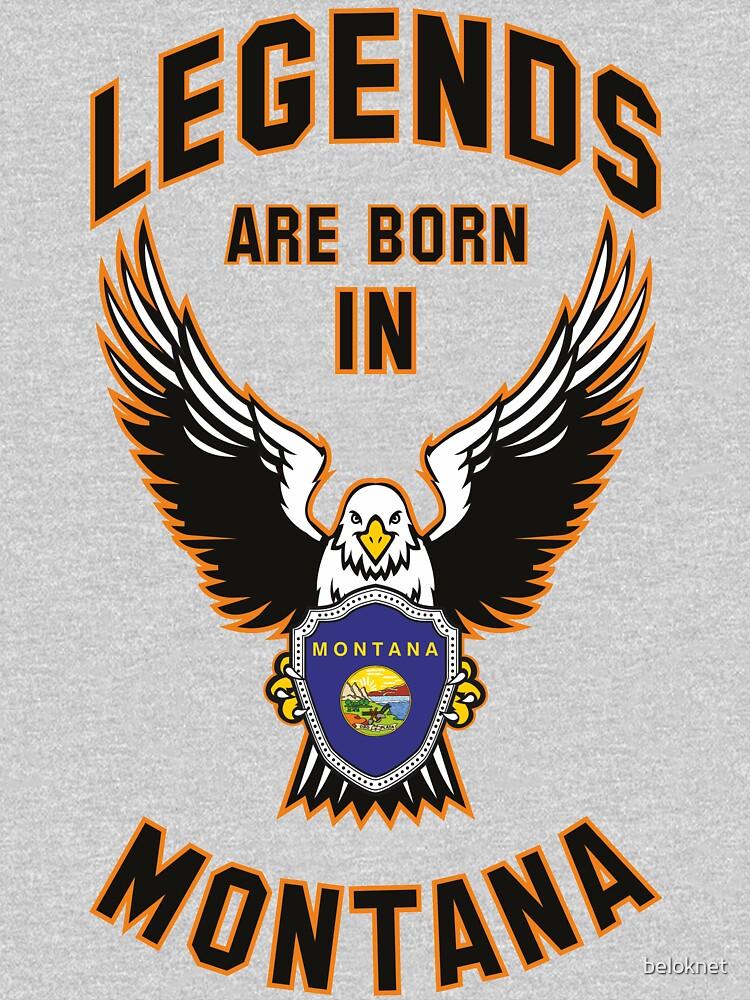Legends are born in Montana by beloknet