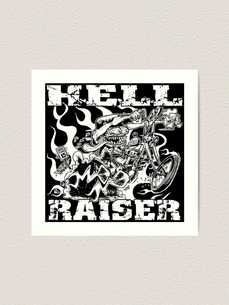 Alternate view of HELL RAISER Art Print