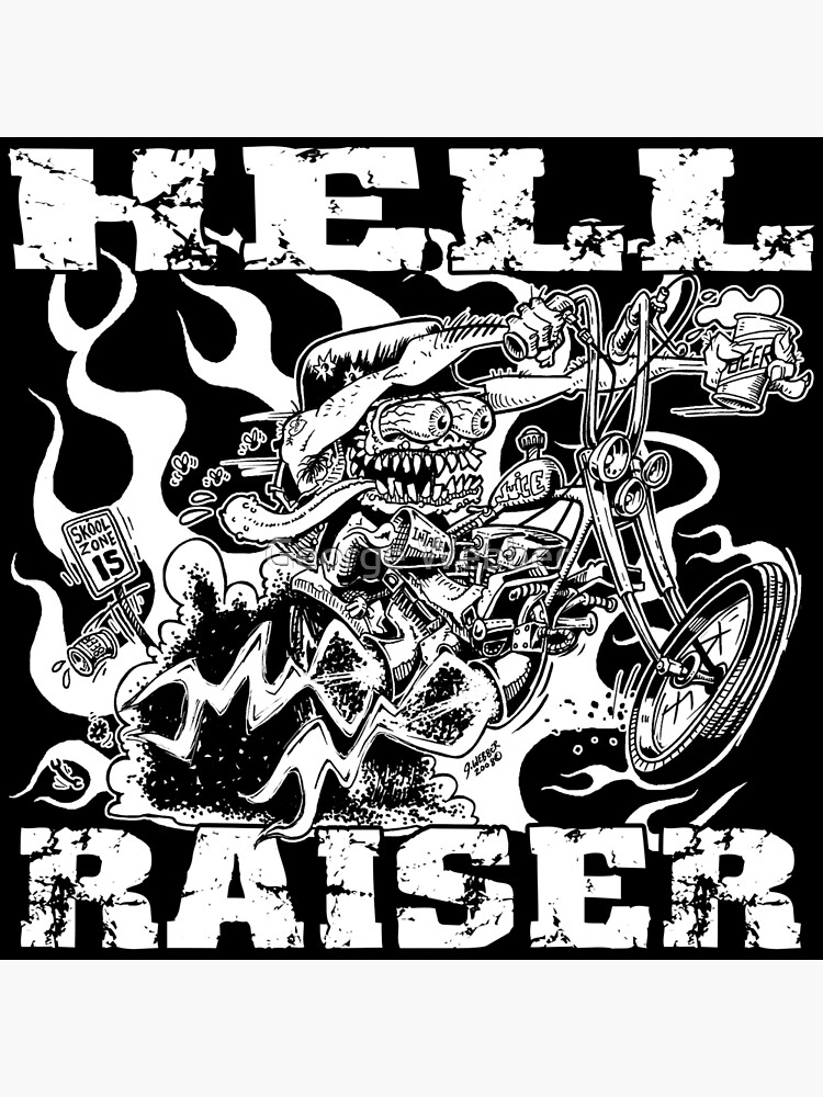 HELL RAISER by gWebberArts