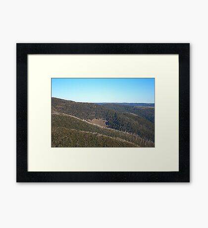 Mt Hotham in April Framed Print