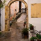 Arched Entrance in Chania by Rae Tucker