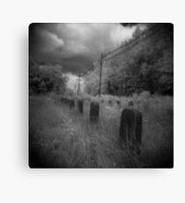 Infared Graves Canvas Print