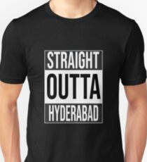 Straight Outta Hyderabad  Unisex T-Shirt