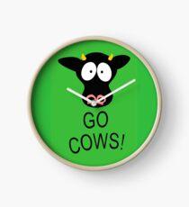 geh Kühe! (Sportplakat) Uhr