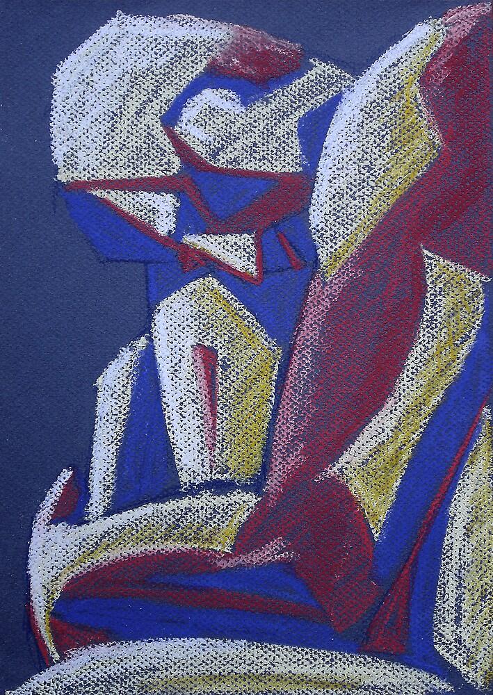 Geometric Man by Marilyn Brown