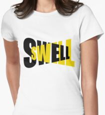 A swell swell Women's Fitted T-Shirt