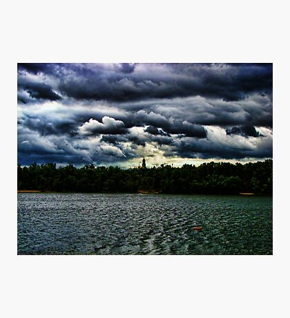 Dnieper River - Kiev, Ukraine Photographic Print