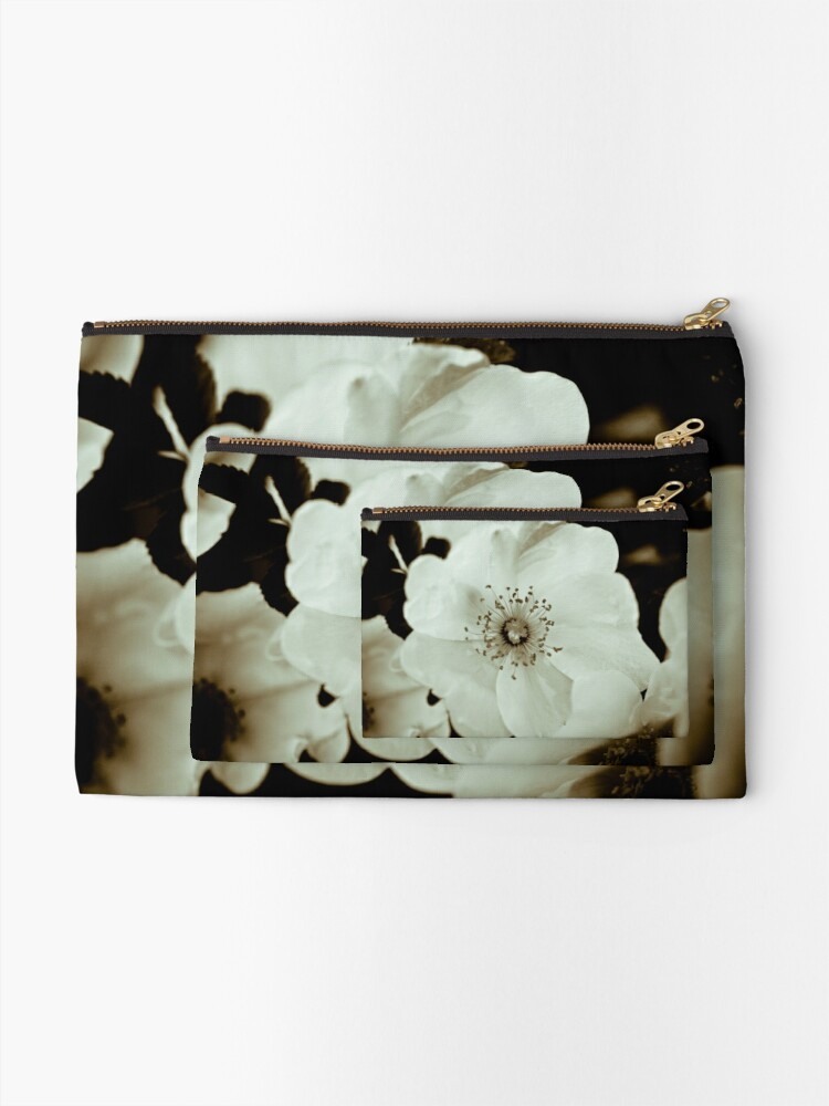 Alternate view of Wild Roses Zipper Pouch