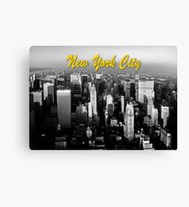 Stunning! 1970's Retro New York City USA Canvas Print