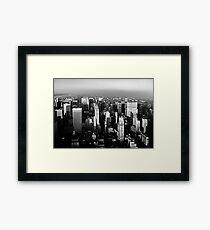 Stunning! New York City Vintage 1970's Framed Print