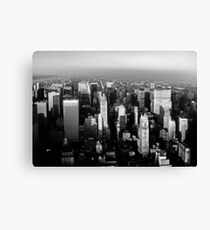 Stunning! New York City Vintage 1970's Canvas Print