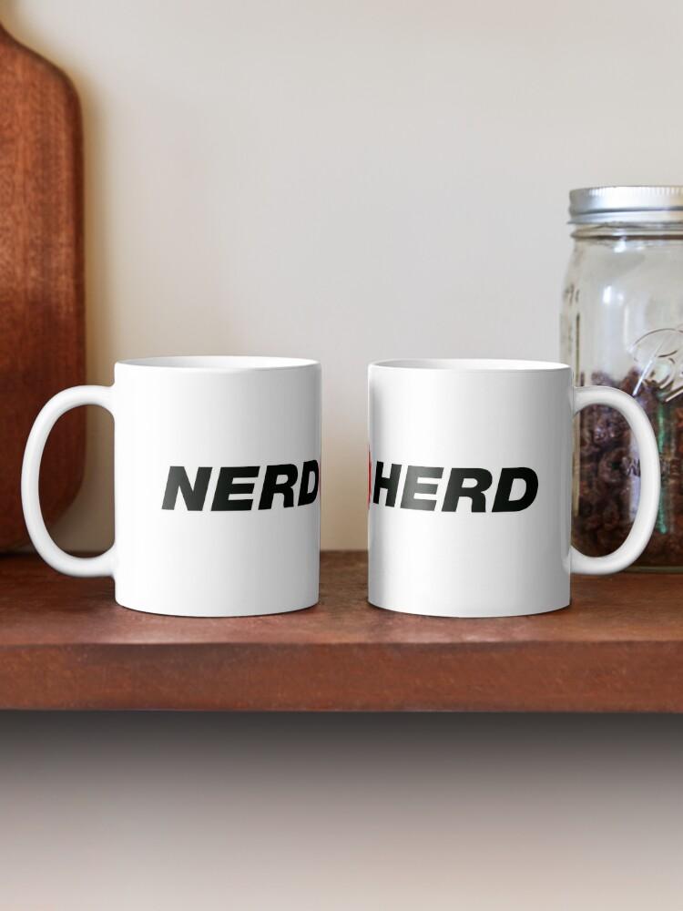 Alternate view of Nerd Herd Mug
