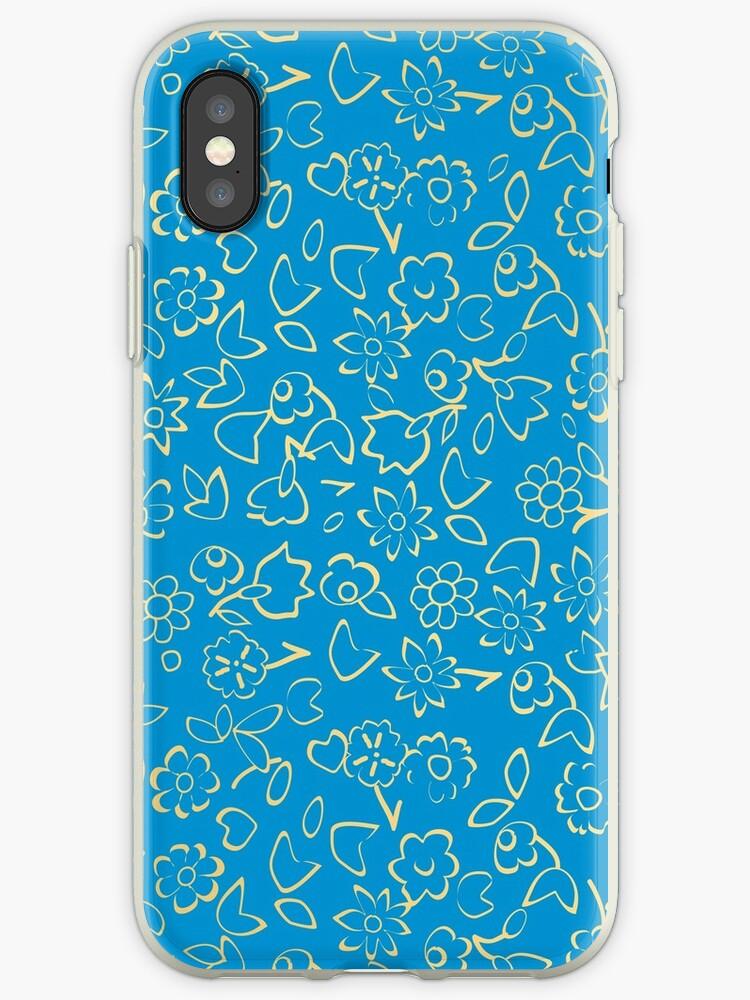Simple Flowers Pattern XXIV by B & K     Store