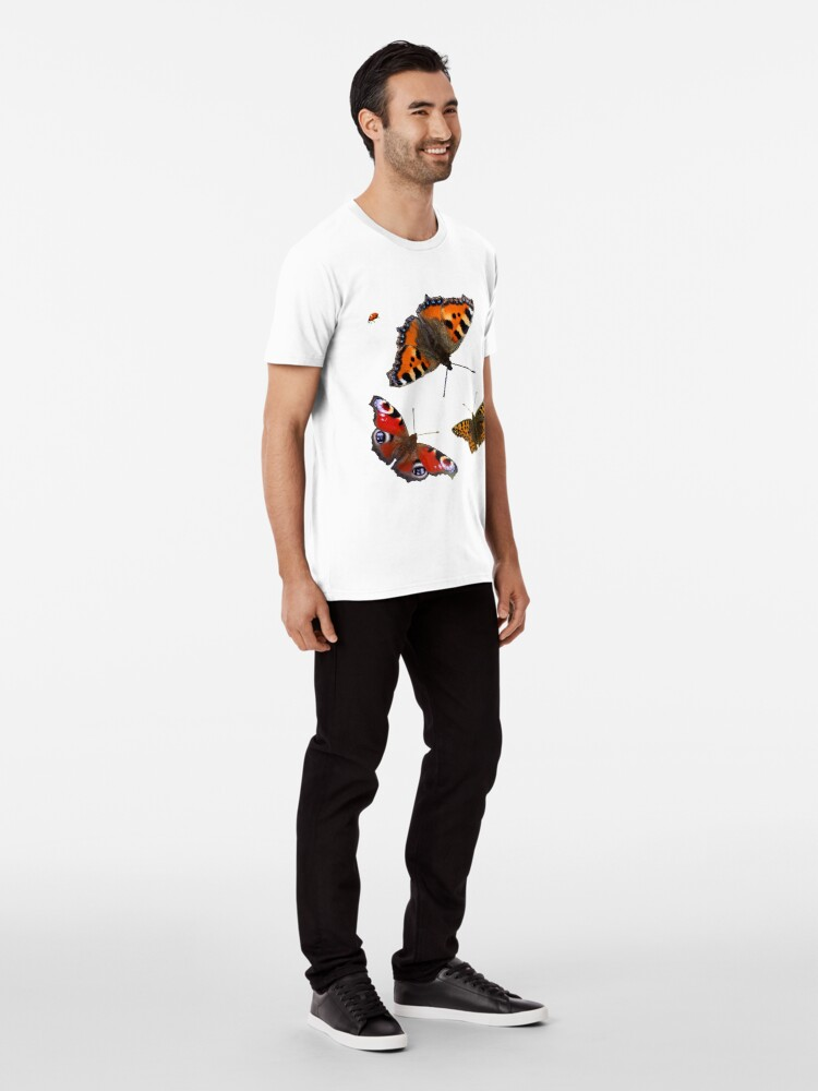 Alternate view of Butterfly Photos Premium T-Shirt